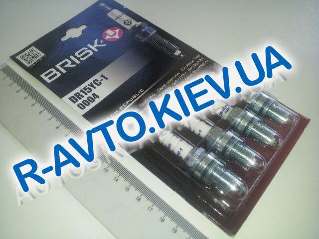 Свечи BRISK SUPER DR15YC1 (Lanos 1.6) к-т, Чехия