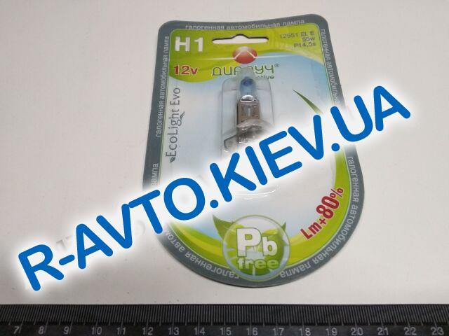 Лампа ДИАЛУЧ H1 12v 55w (12551) EL Evo +80%