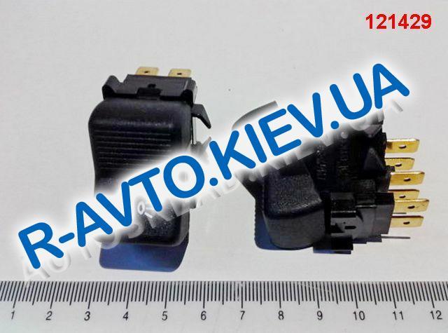 Включатель-клавиша света ВАЗ 21011 (6 конт.), Радиодеталь (П147-04.04)