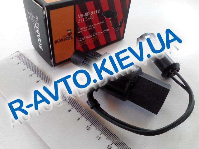 Датчик скорости с проводом ВАЗ 2110 6имп круглая фишка СтартВольт VSSP 0112