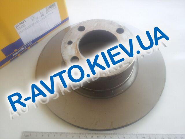 Диск тормозной ВАЗ 2101, Metelli (23-0043) 1 шт