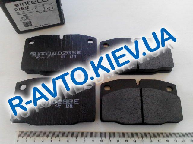 Колодки передние тормозные Nexia, Dafmi Intelli (Д269Е)