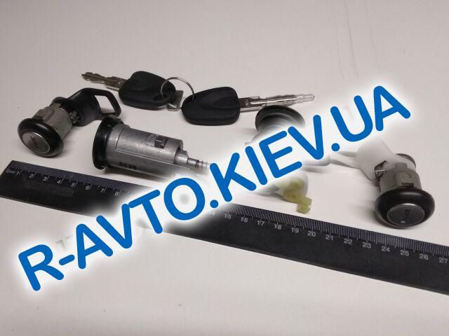 """Замки в сборе Nexia к-т. (зажигания, дверей, багажника), """"GM"""" Корея (96223338)"""