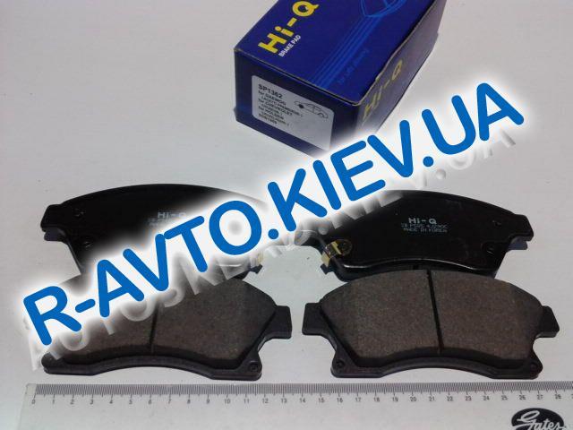 """Колодки передние тормозные Aveo 15"""" с 2011 г., HI-Q (Корея) (SP1362)"""