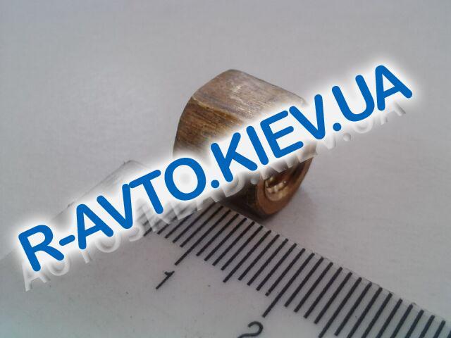 Гайка М 8 приемной трубы 2101, Белебей латунь