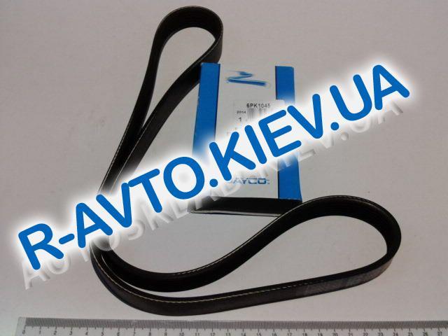 """Ремень генератора ручейковый Sens (с ГУР) 6PK1045, """"DAYCO"""" с конд."""