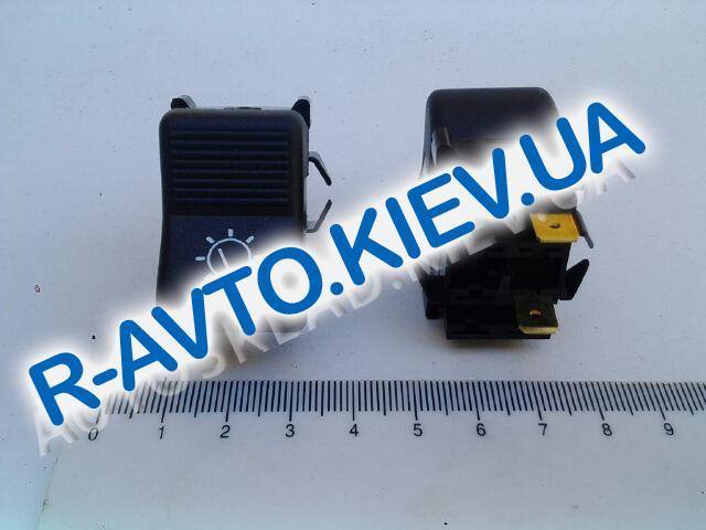Включатель-клавиша света приборов ВАЗ 2103 (2 конт.), Радиодеталь (ВК343-01.07)