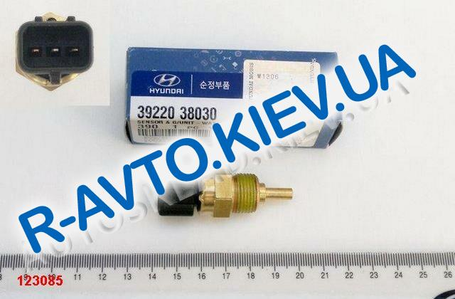 Датчик температуры охлаждающей жидкости Hyundai|KIA, MOBIS (39220-38030)