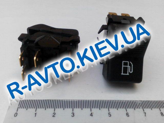 Включатель-клавиша переключения газ-бензин ВАЗ, ГАЗ (6 конт.), Радиодеталь (П147-06.48)