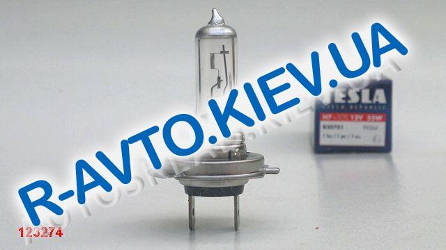 Лампа TESLA H7 12V 55W (B30701) +50%