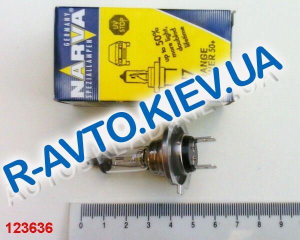 Лампа NARVA H7 12V 55W RANGE POWER +50% (48339)