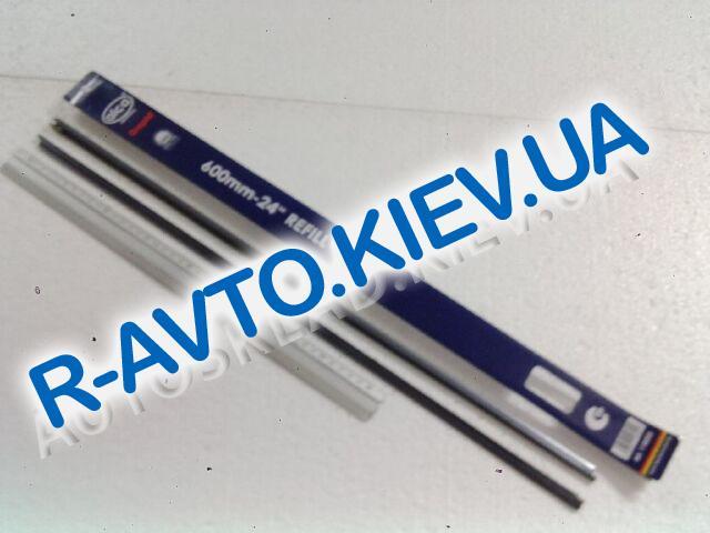 """Лента стеклоочистителя ALCA графитовая 610 мм (пара) """"Ёлка"""""""