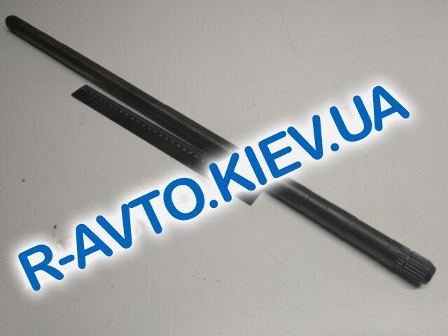 Полуось (вал привода шруса Lanos Nexia правый (длинный) 22*22 крупный шлиц