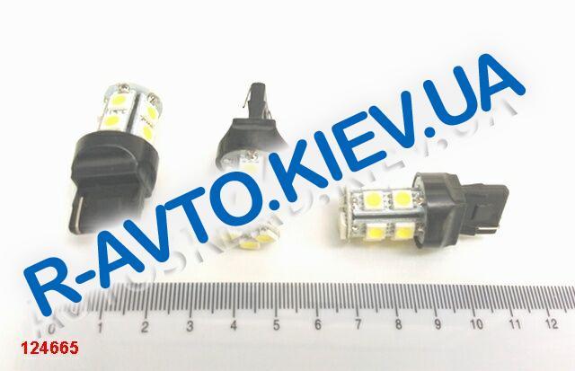 Лампа светодиод б|ц 12|21  T20 13SMD белая
