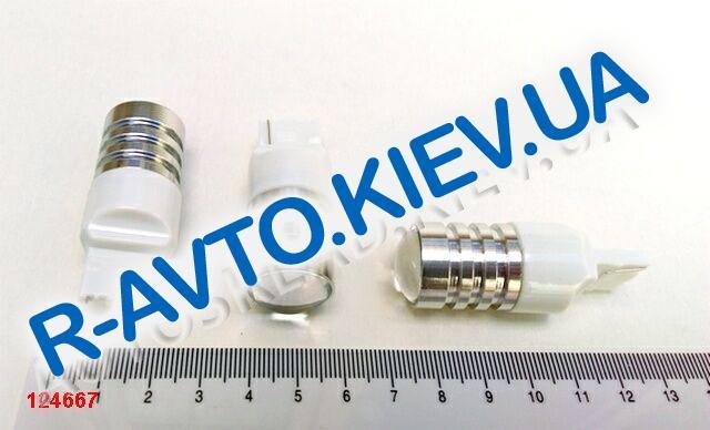 Лампа светодиод б|ц 12|21  T20 ЛИНЗА белая