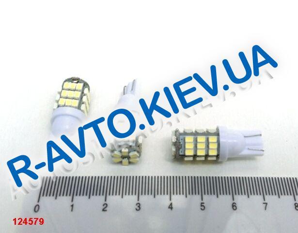 Лампа светодиод б|ц 12| 5  T10 42SMD (12 х 06) белая