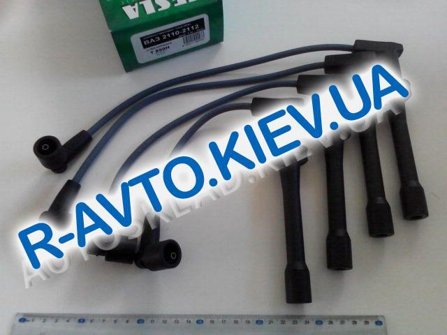 Провода ВАЗ 2112 16 кл., TESLA (T859H) п|силикон