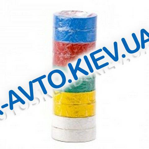 Изолента Inter Tool (IT-0014) 17мм*10 м цветная (10 шт в упак.)