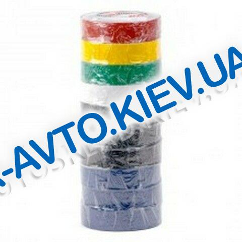 Изолента Inter Tool (IT-0019) 17мм*15 м цветная (10 шт в упак.)
