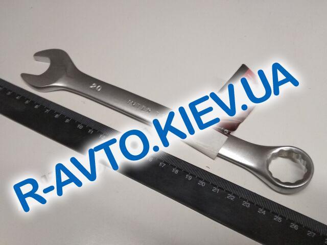 Ключ рожково-накидной 20 мм Inter Tool (HT-1220)