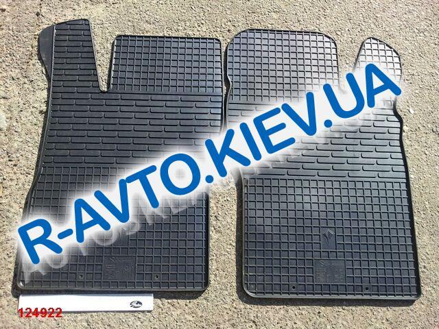 Коврики в салон резиновые STINGRAY BUDGET, Nexia|Vektra A|Kadett E|Astra F к-т 2 шт. передние
