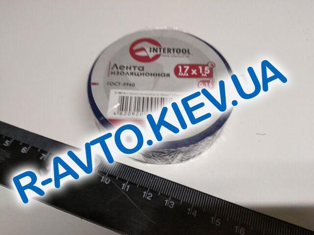 Изолента Inter Tool (IT-0015) 17мм*15 м синяя