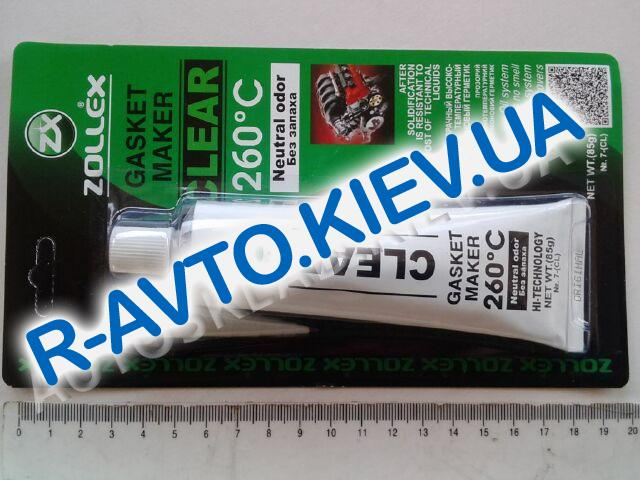 Герметик Zollex прозрачный (85г.) без запаха