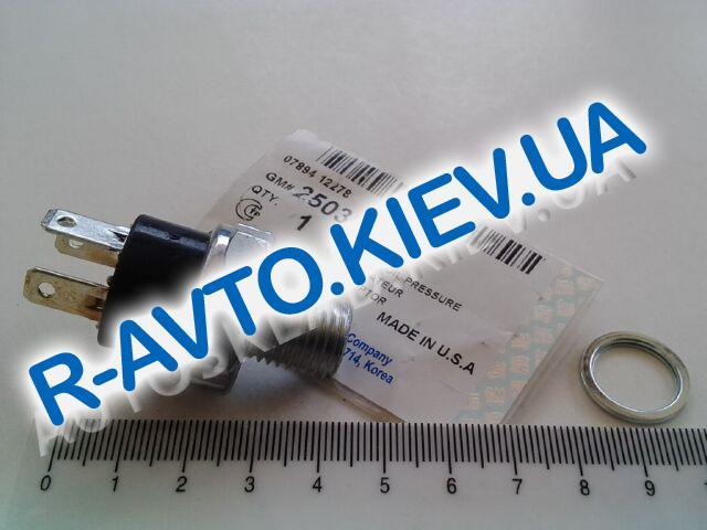 """Датчик давления масла Nexia, """"GM"""" Корея (25036834)"""