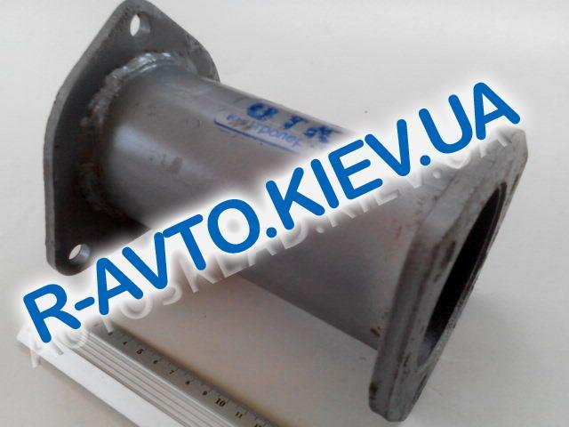 Труба вместо катализатора Aveo, Тернополь вертикальная (короткая, широкая)