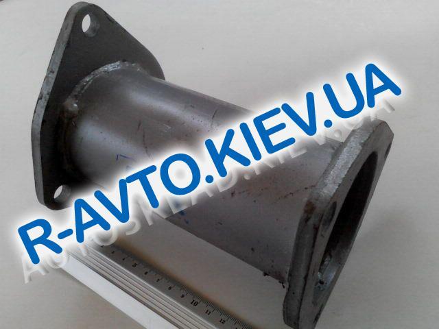 Труба вместо катализатора Lanos, Тернополь вертикальная (короткая, широкая)