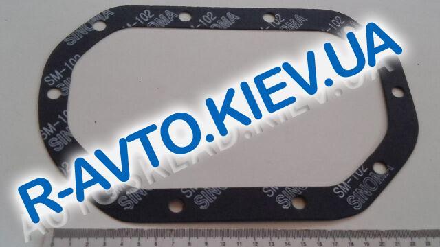 Прокладка поддона КПП Lanos, PMC (P1U-C001) стар. орб. 10 отв.