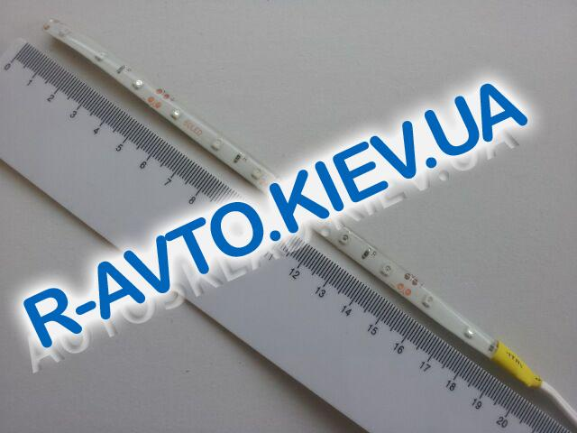 Лента светодиодная 24V 20см (35 х 28) желтая