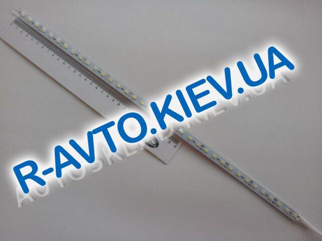 Лента светодиодная алюминий 12V 50см (57 х 30) белая
