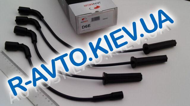 Провода высоковольтные Lanos 1.5, JANMOR (D6E) п|силикон