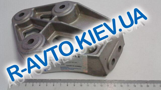 """Кронштейн крепления двигателя Lanos правый, """"GM"""" Корея (96078088)"""