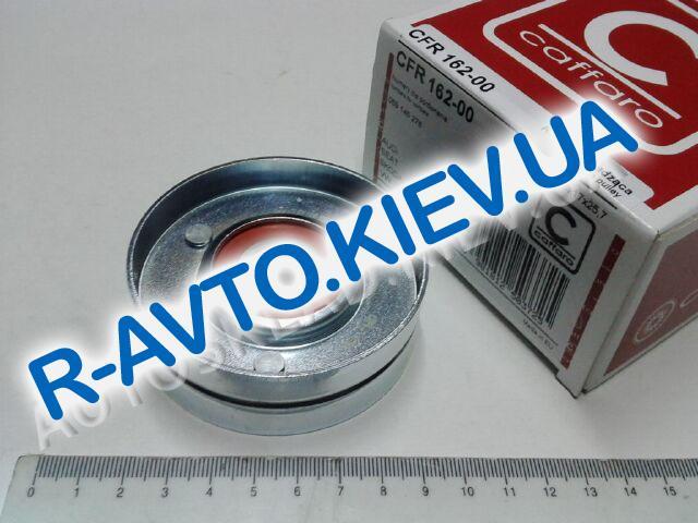 Ролик натяжной ремня генератора Aveo, CAFFARO (162-00) большой ф76 мм металл.