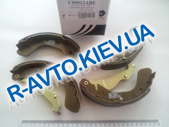 Колодки задние тормозные Aveo ABE (C00012ABE)