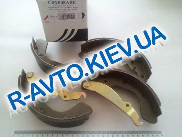 Колодки задние тормозные Lanos ABE (C0X008ABE)