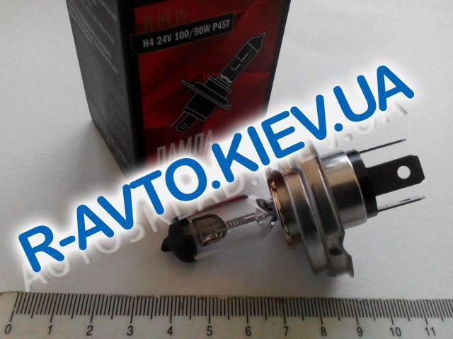 Лампа  СтартВольт H4 24V 100|90-45 (VL-H4-15)