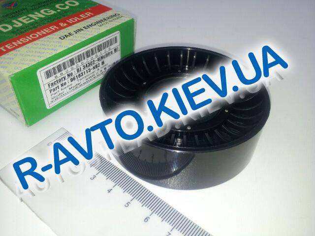 Ролик натяжной ремня генератора Aveo, DAEJIN (Корея) (34302-4) большой  ф 76 мм