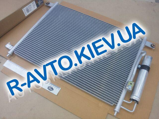 Радиатор кондиционера Aveo, Thermotec (KTT110316) с ресивером