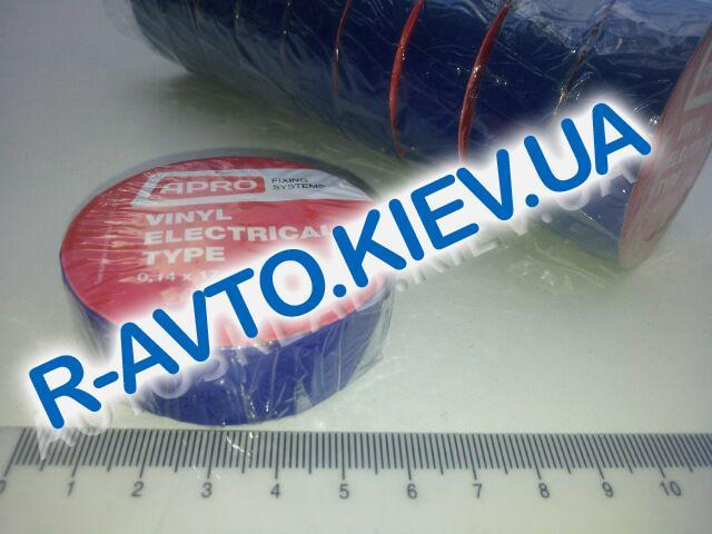 Изолента APRO (ET-10 Blue) 17мм*10 м синяя