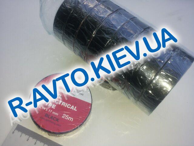 Изолента APRO (ET-25 Black) 17мм*25 м черная