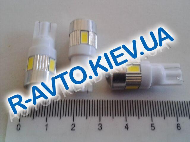 Лампа светодиод б|ц 12| 1,2  T5 COBALT белая