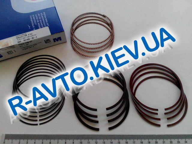 Кольца SM Aveo 1.5  76,75 1-й ремонт (791408-25-4)  1,50x1,50x2,00