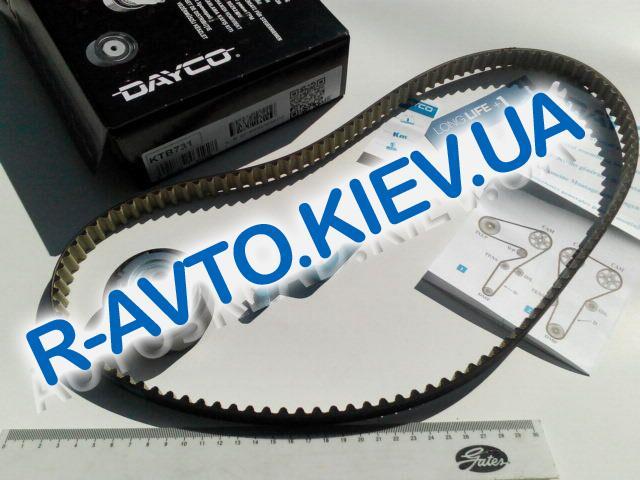 Ремень ГРМ ВАЗ 2190 8v, DAYCO (KTB731)+РОЛИК