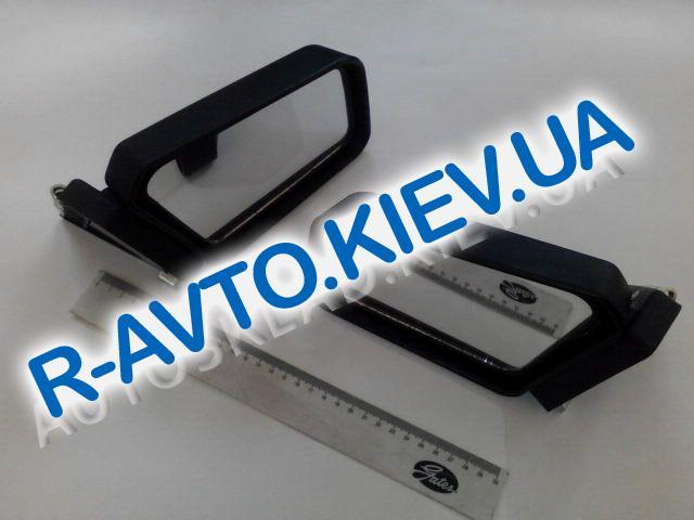Зеркало ВАЗ 2101-08 боковое, Димитровград черное (на пружине) пара
