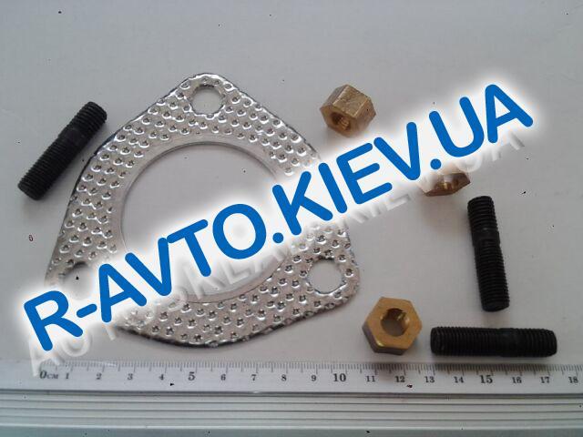 Прокладка приемной трубы (катализатора) Sens, Украина (с шпильками, гайками)103