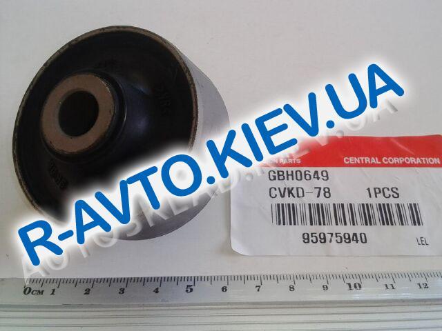 Сайлентблок переднего рычага (задний) Aveo, CTR (CVKD-78) цельный, усиленный