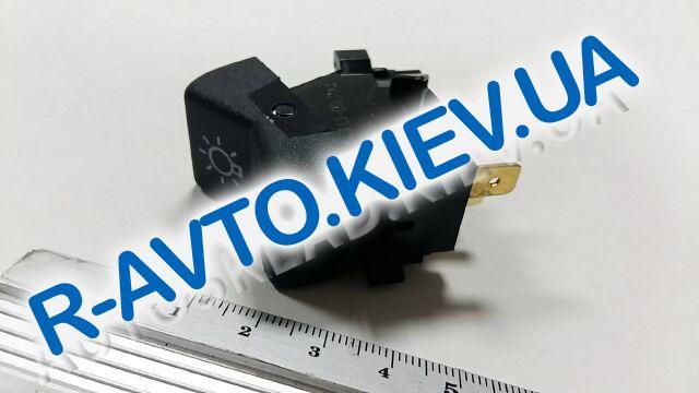 Включатель-клавиша света ВАЗ 2105 (3 конт.), Радиодеталь (ВК343-03.29А)